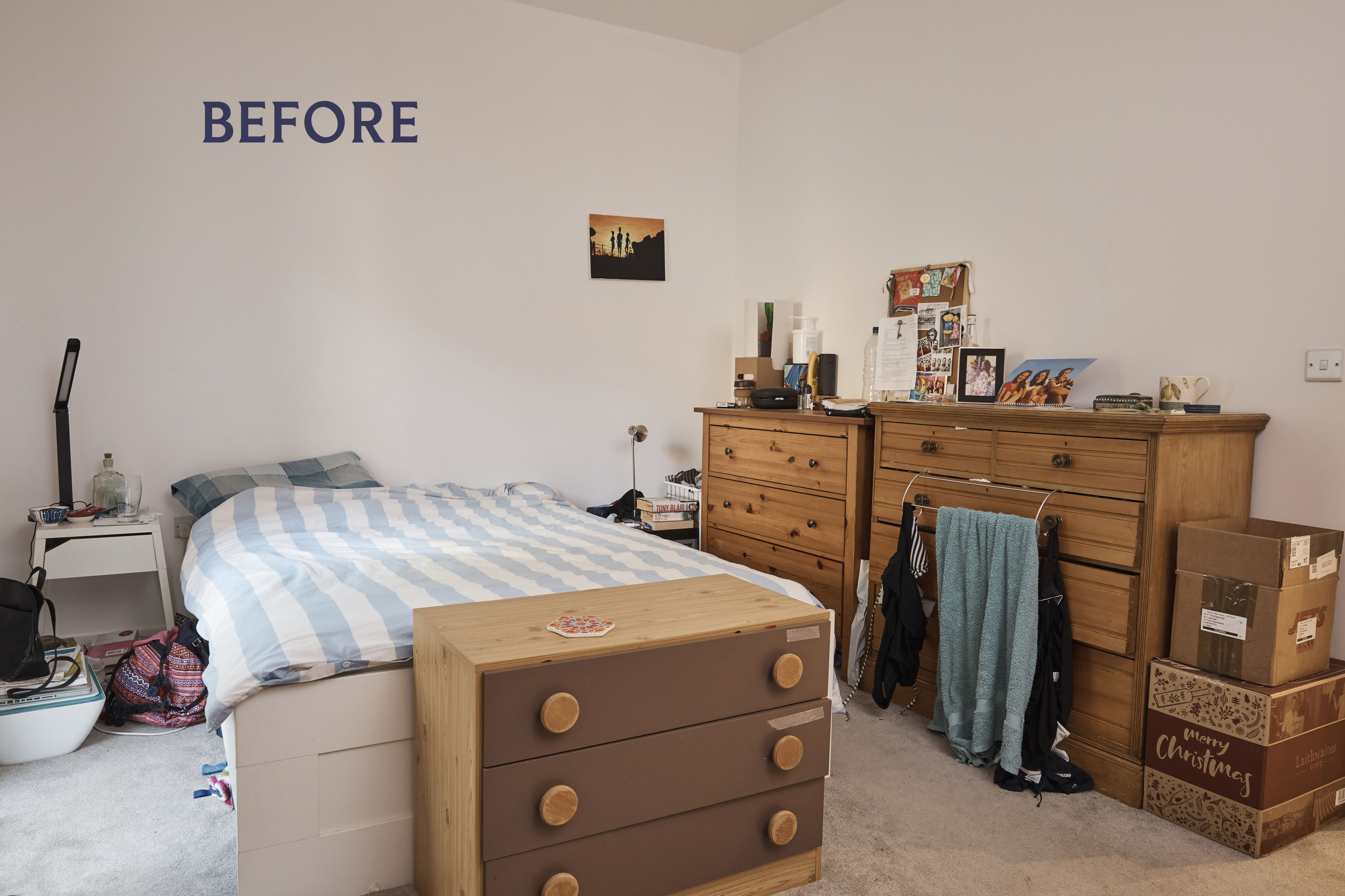 Friends redecorate London home for less than £2,000 using second hand items