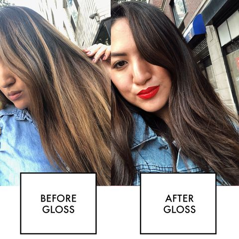 What Is A Hair Gloss Treatment Hair Gloss Vs Hair Dye