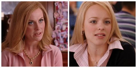 Amy Poehler en Rachel McAdams in Mean Girls