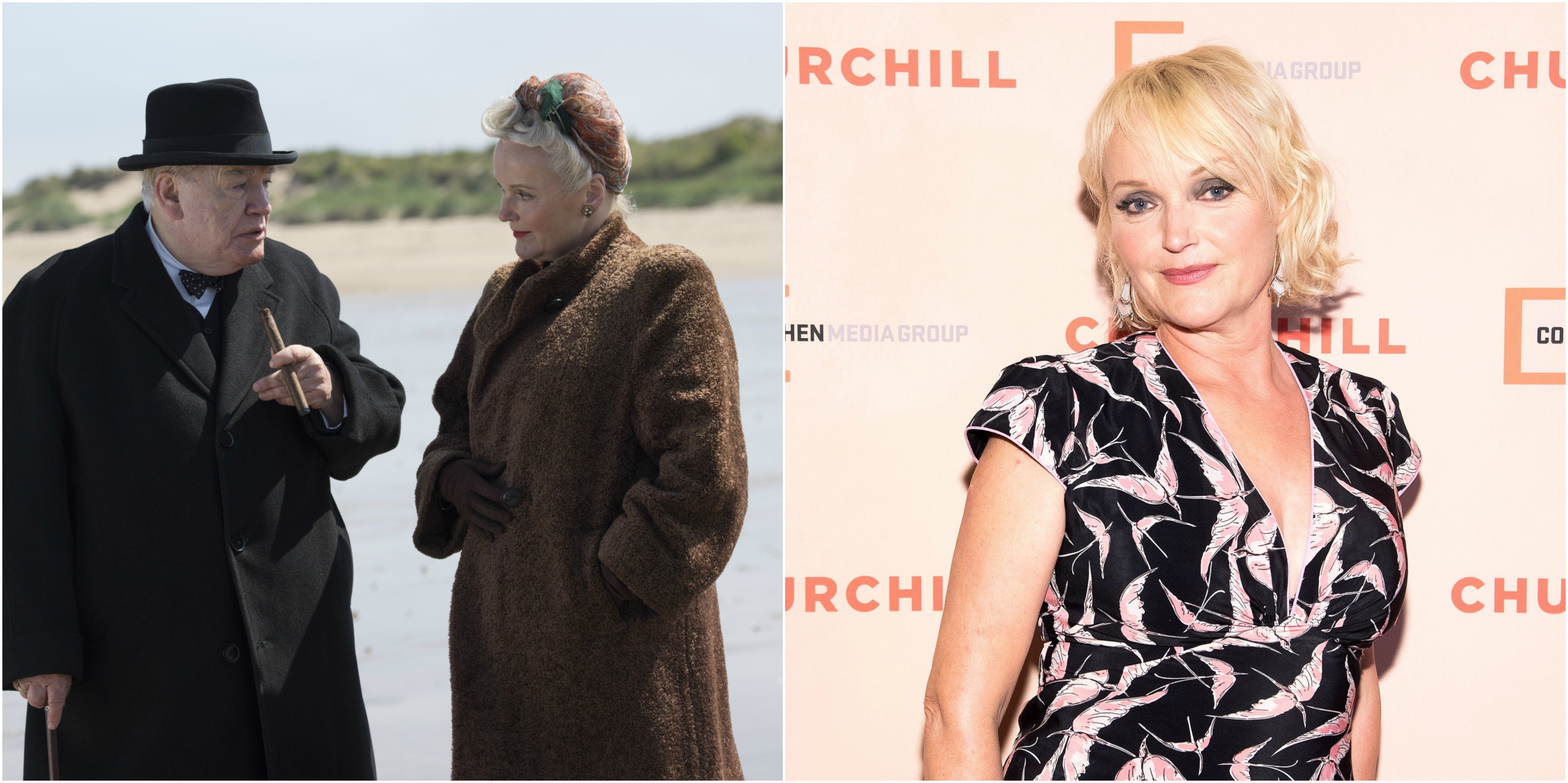Miranda Richardson as Clemmie Churchill