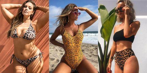 leopardo bikinis