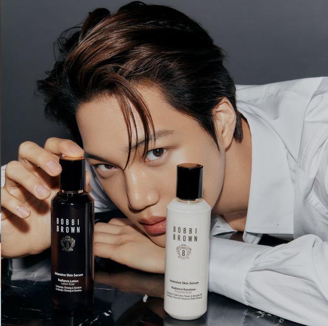 exo kai、宋江與黃寅燁等男星進攻彩妝!紅潤唇色、牛奶皮膚不輸女星更生火