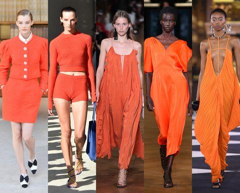 naranja tendencia verano 2020 zara