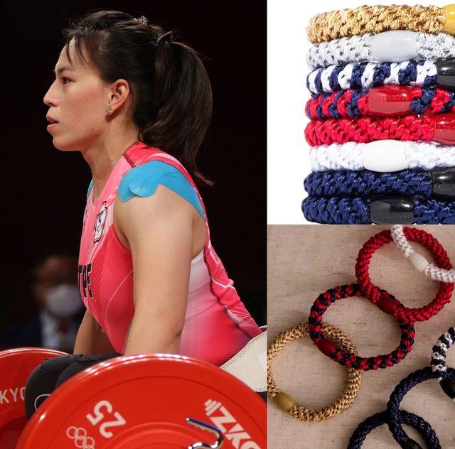 舉重女神郭婞淳及奧運選手吳佳穎、黃義庭都在用的髮圈,原來出自髮圈界lv之手