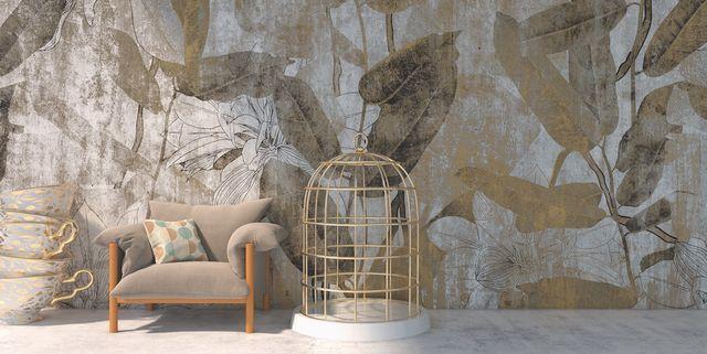 behang botanic drops van yo2 wallpapers