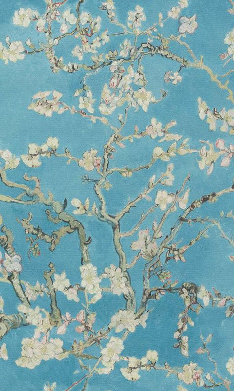 behang van gogh bloesem mooiste behang