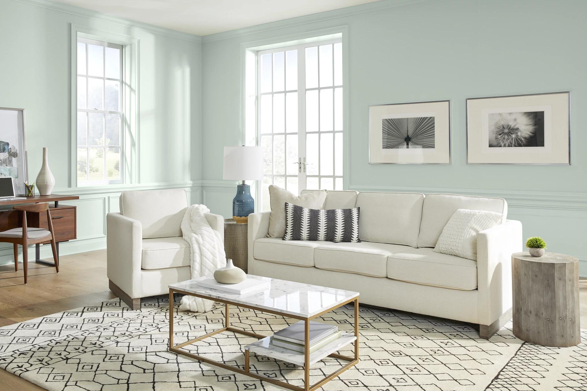 Behr Paint Announces Breezeway As Its, Behr Paint Ideas For Living Rooms