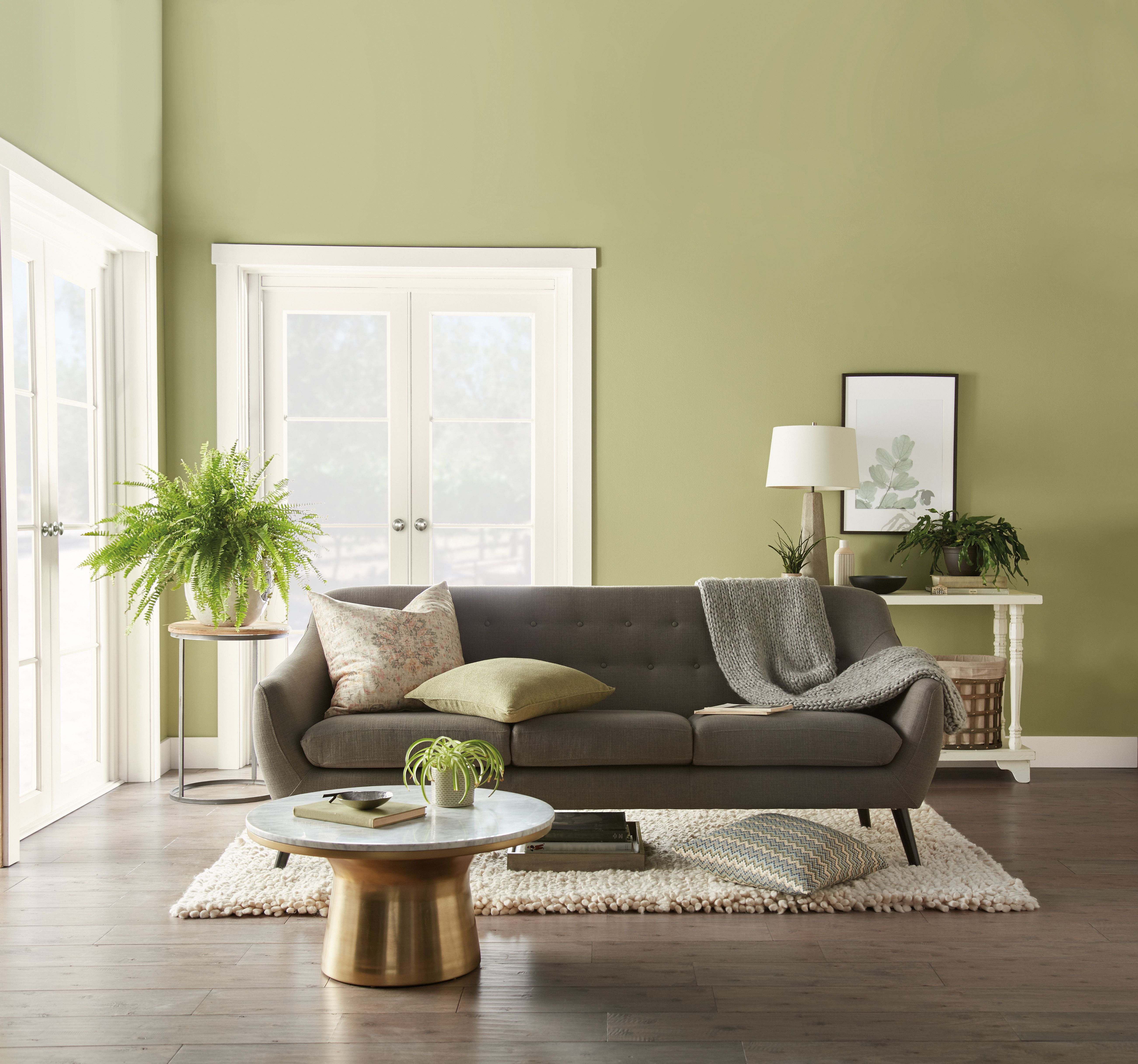 Behr Paint 2020 Color Of The Year Back To Nature S340 4 New Paint Color Of The Year