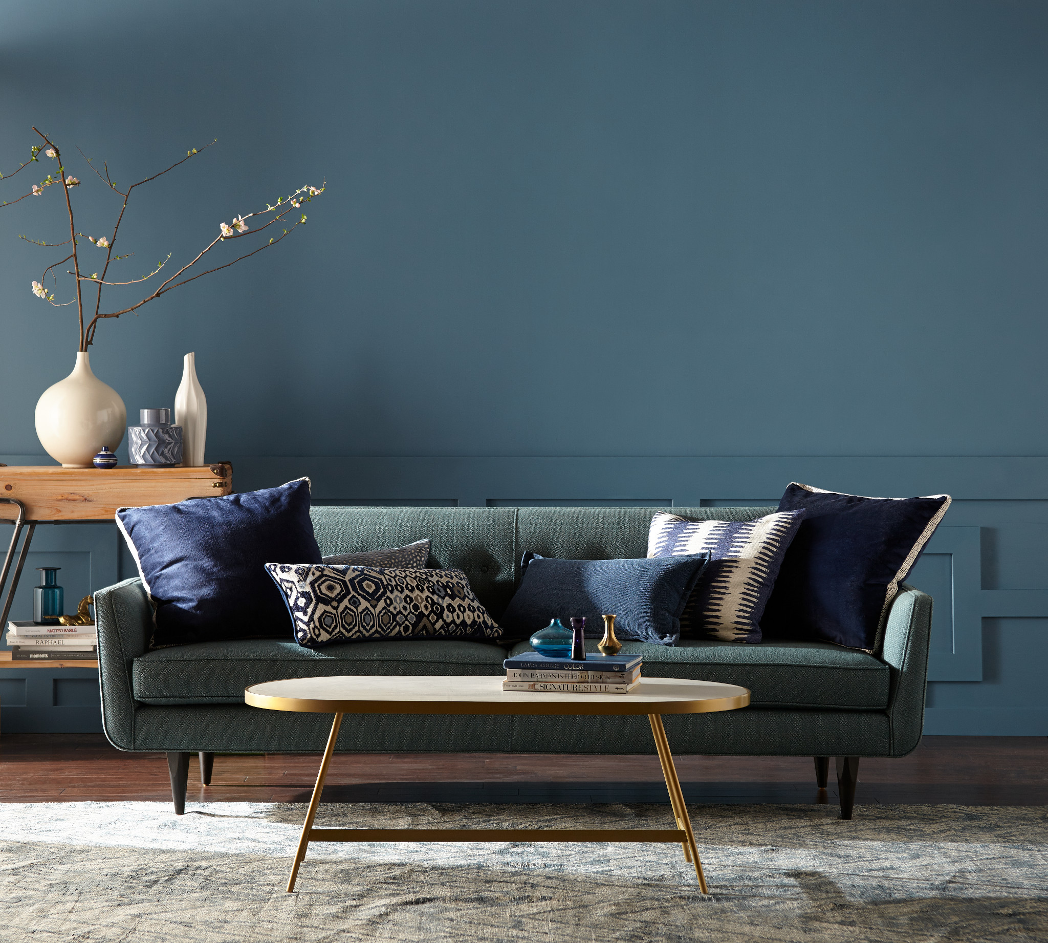 Behr Paint S 2019 Color Of The Year Is Blueprint And It S So Chic 2019 Paint Color Trends