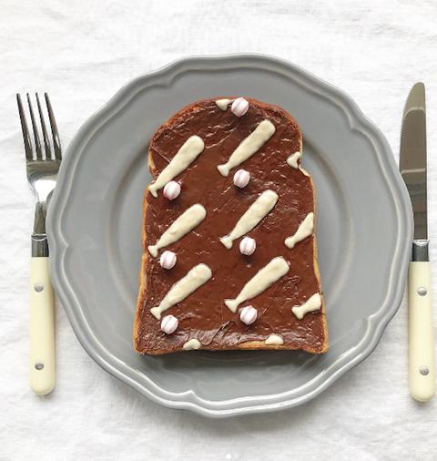 Dish, Food, Cuisine, Dessert, Ingredient, Chocolate cake, Baked goods, Chocolate, Fork, Cake,