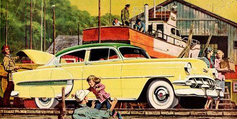 Land vehicle, Vehicle, Motor vehicle, Car, Classic car, Classic, Coupé, Vintage car, Antique car, Full-size car,