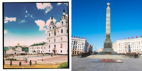 Cathedral of the Holy Spirit is a landmark of the Belarusian capital, Minsk