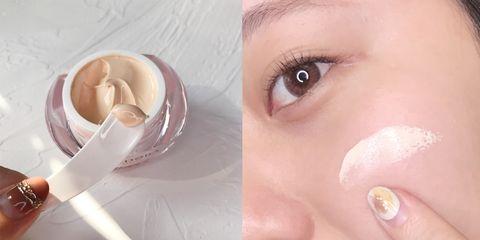 蓓朵娜beldora hd智慧光感粉底乳霜最佳使用時機:趕時間、懶人底妝