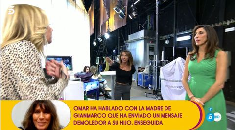 Belén Rodríguez, María Patiño, Sálvame, Belén Ro, Belen Rodriguez y María Patiño discusión