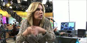 Belen Rodriguez y María Patiño discusión