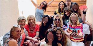 Belén Esteban celebra su segunda despedida de soltera con sus compañeras de 'Sálvame'