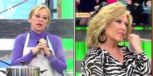 Belén Esteban se disculpa con Lydia Lozano