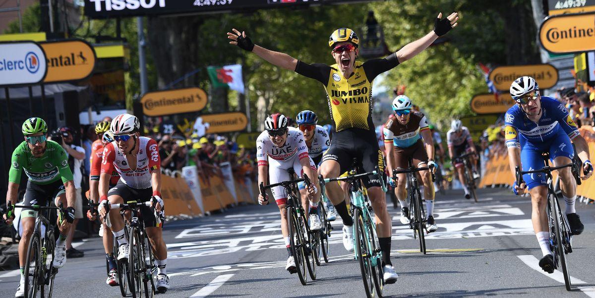 Wout Van Aert Wins Tour De France Stage 10 Geraint Thomas