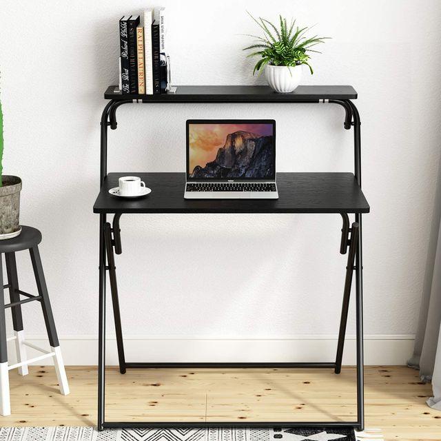 beliwin folding computer desk