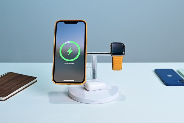 belkin boost charge pro 3in1 wireless charger with magsafe