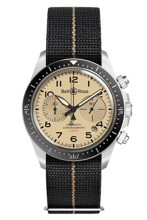 Bell & Ross BR V2-94 Military Beige Chronograph