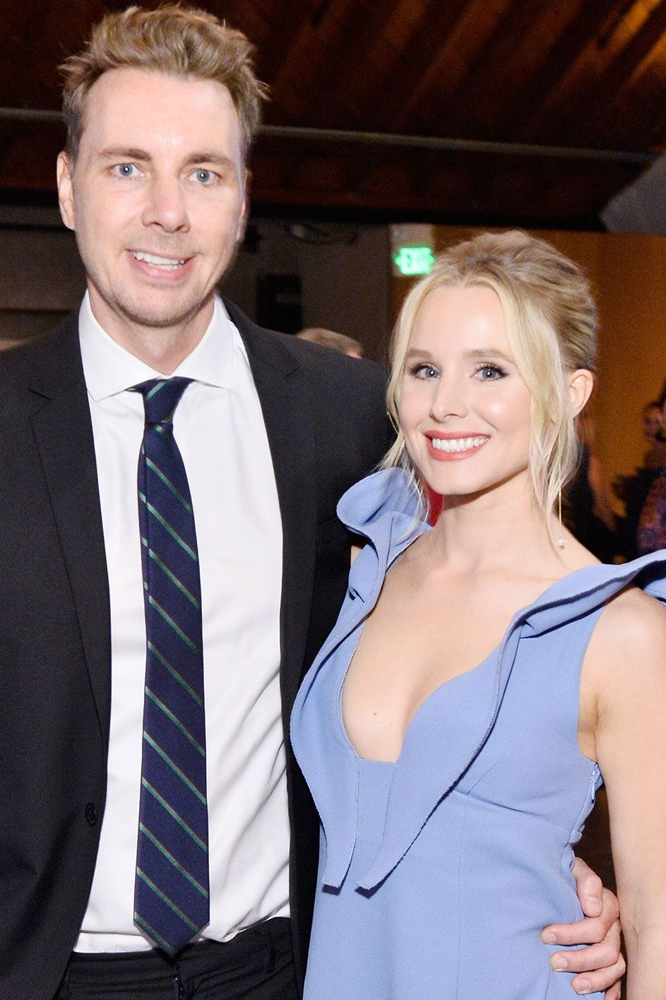 Kristen Bell and Dax Shepard They're a funny pair, and not just because they have similar facial features. Their chemistry is as undeniable as their resemblance.