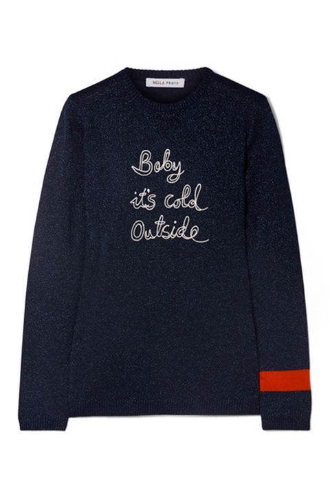 Bella Freud Baby It's Cold Outside jumper