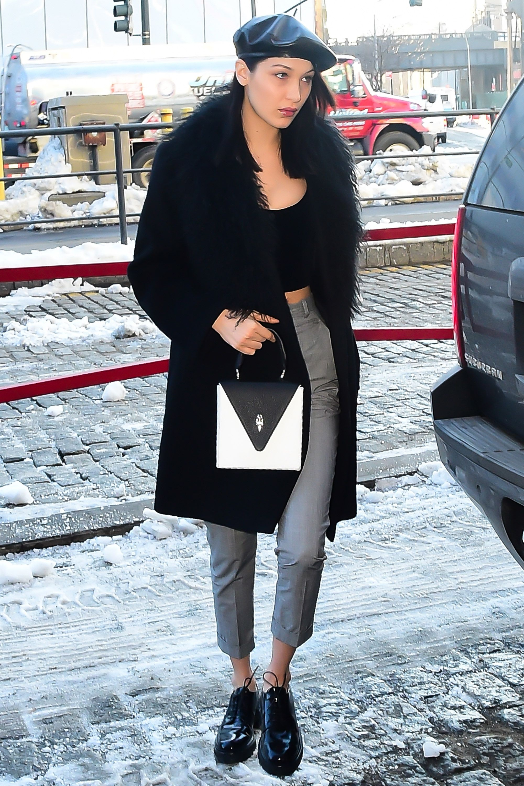 332124ca1fc Winter style inspiration from the A-list – Celebrity style inspiration in  winter