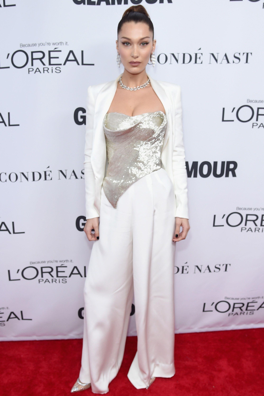Celebrities wearing sequins