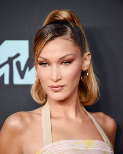 newark, new jersey   august 26 bella hadid attends the 2019 mtv video music awards at prudential center on august 26, 2019 in newark, new jersey photo by dimitrios kambourisgetty images
