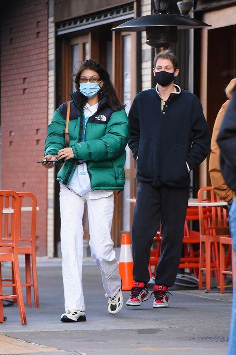 celebrity sightings in new york city   november 23, 2020