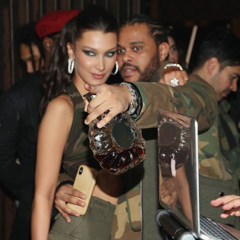 The Weeknd Celebrates His Birthday At TAO Downtown With Remy Martin