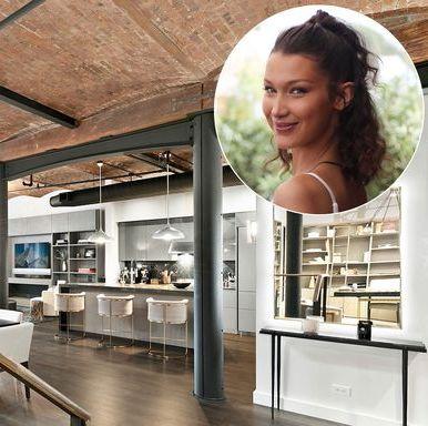 bella hadid's new apartment
