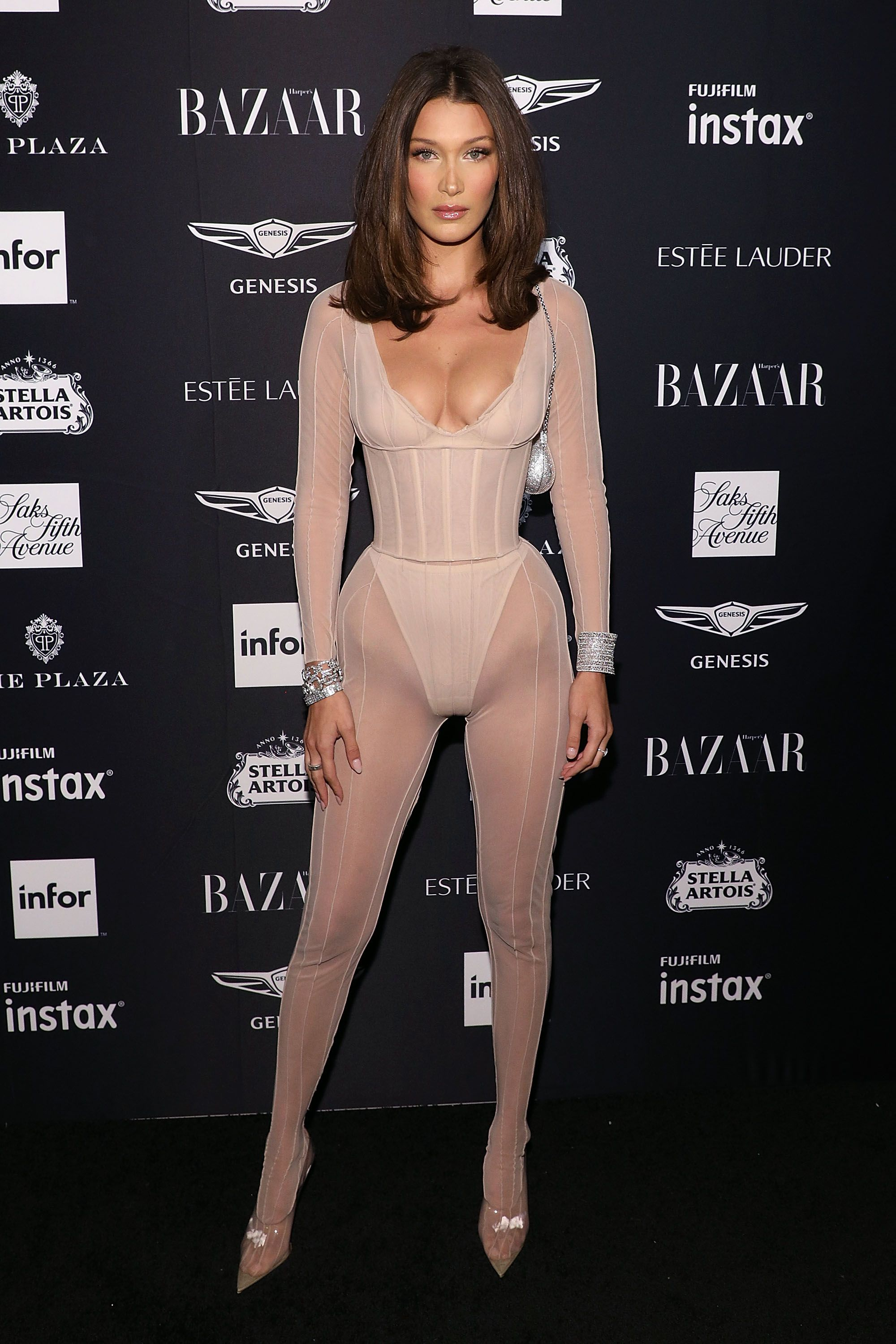 Almost Naked Celebrity Outfits Sheerest Most Daring Dresses