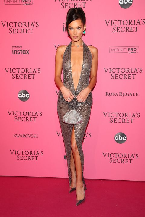 778c04f41b 2018 Victoria s Secret Fashion Show in New York - After Party Arrivals.  Astrid StawiarzGetty Images. Bella Hadid