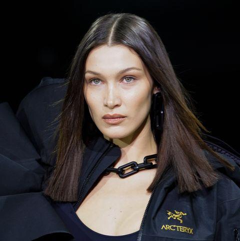 Bella Hadid bleached brows