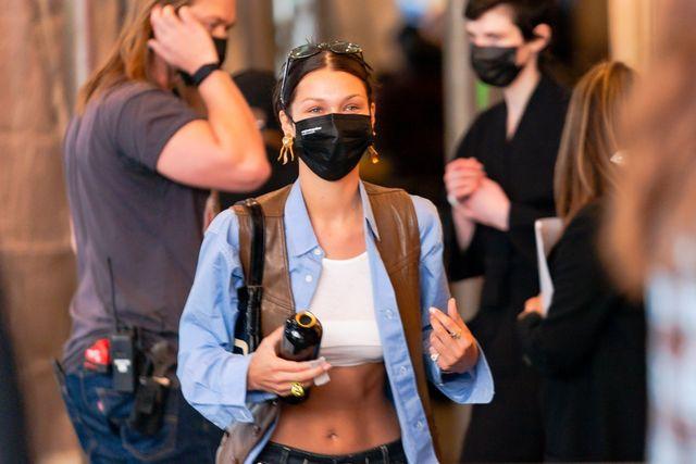 celebrity sightings in new york city april 08, 2021