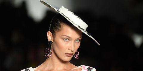 koelkast, Bella Hadid, model, wat eet een model, eten, model.