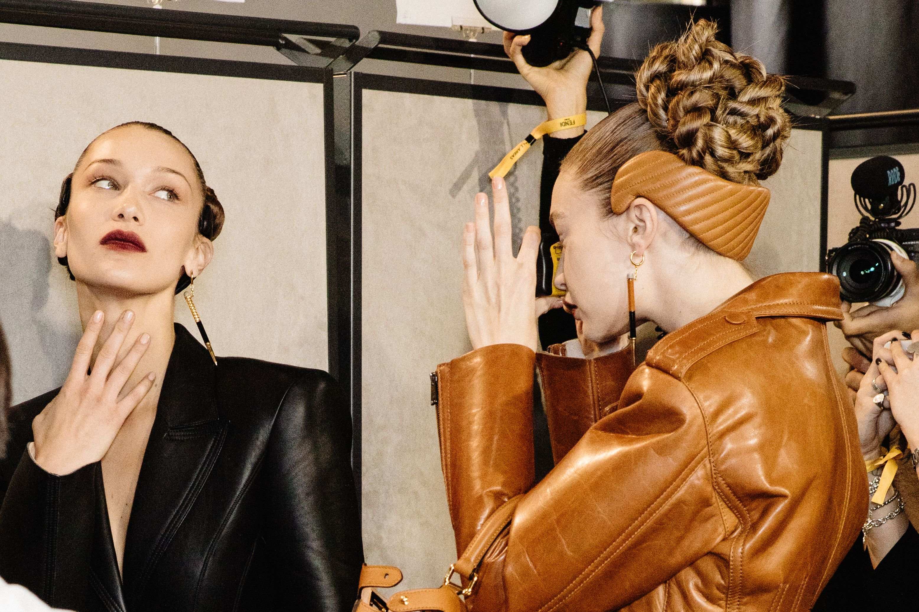 Fendi Demonstrates A Unique New Way To Wear Your Hairband