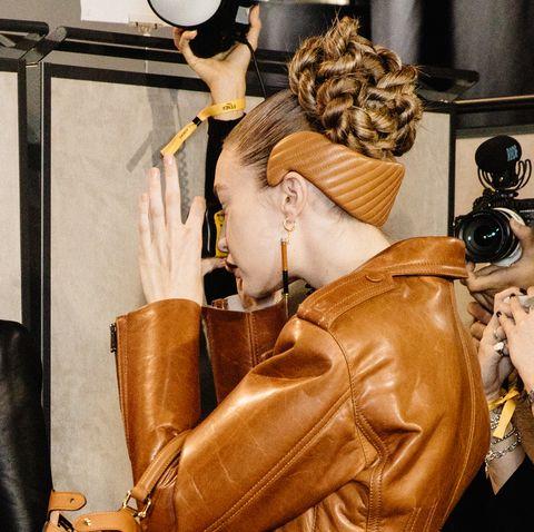 Fendi - Backstage - Milan Fashion Week Fall/Winter 2020-2021