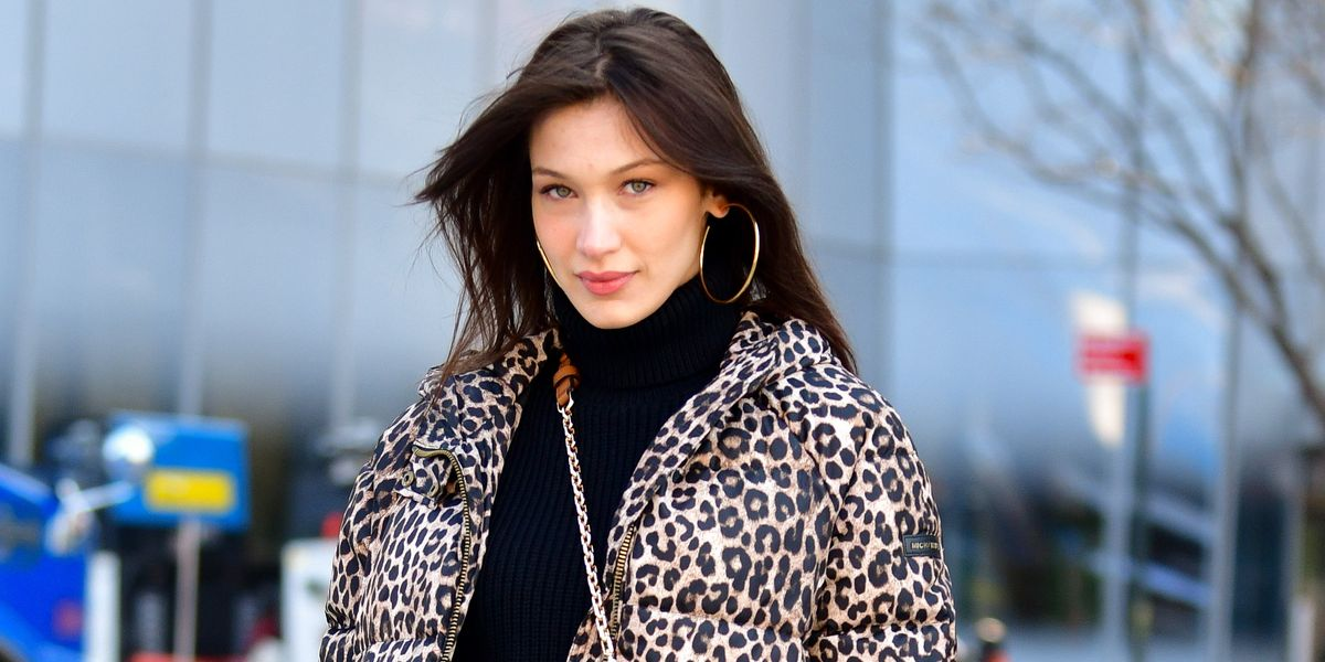 Bella Hadid Debuts Two-Toned Fire Red Hair
