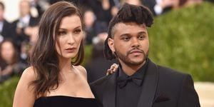 Bella Hadid en Abel Tesfaye, The Weeknd