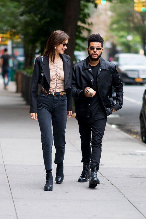 Street fashion, Photograph, Jeans, Clothing, Fashion, Snapshot, Footwear, Denim, Leather jacket, Jacket,