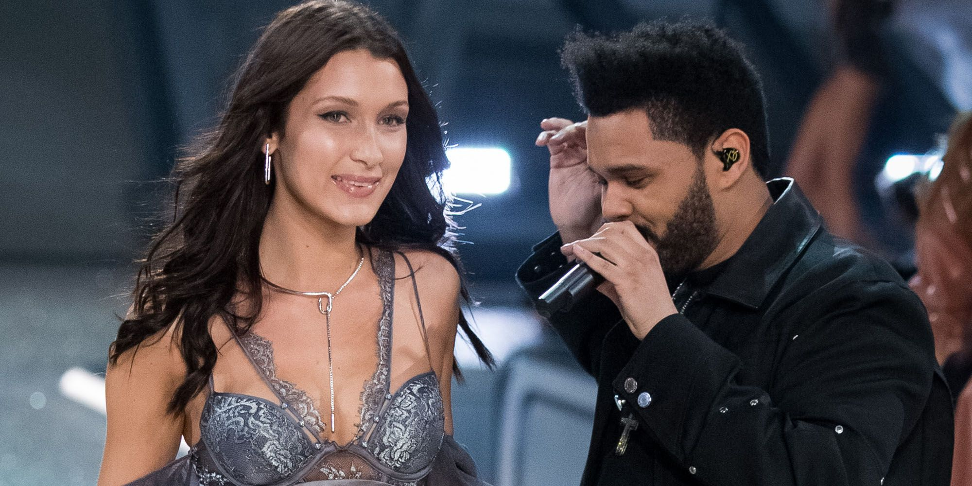 Image result for bella hadid and the weeknd