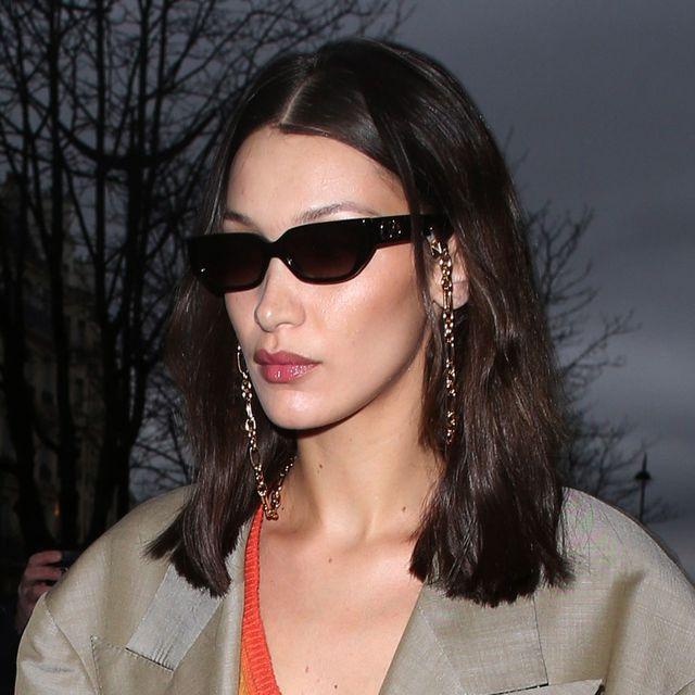 bella hadid, versace, sunglasses