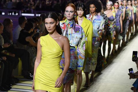 Versace - Runway - Milan Fashion Week Spring/Summer 2019