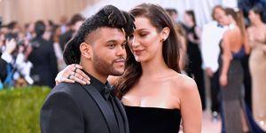 The Weeknd Bella Hadid Met Gala