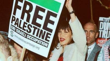 ベラ・ハディッド、父の祖国パレスチナのために声をあげる