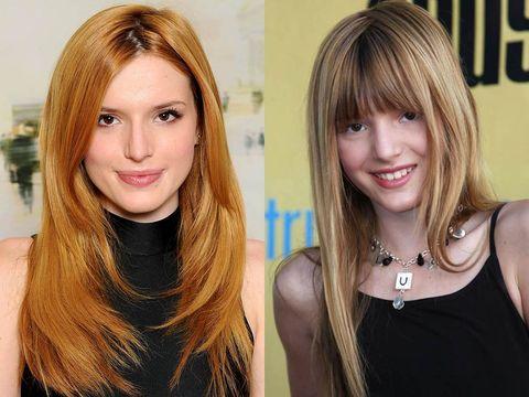 Hair, Face, Blond, Hairstyle, Hair coloring, Eyebrow, Layered hair, Chin, Long hair, Brown hair,