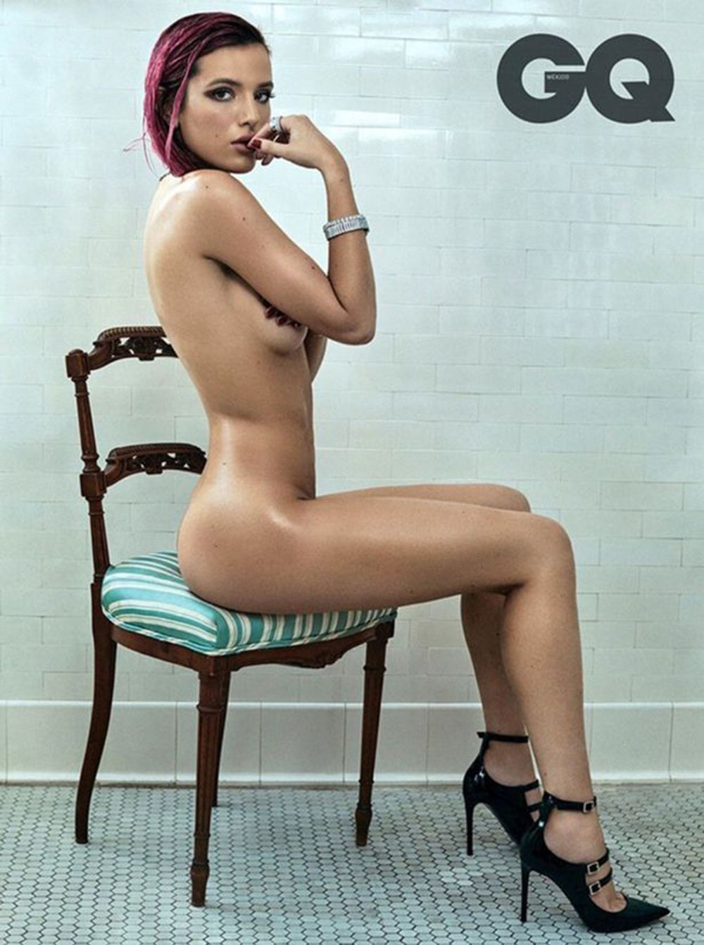 24 of the nakedest celebrity photoshoots - celebs stripping off for magazine  photoshoots